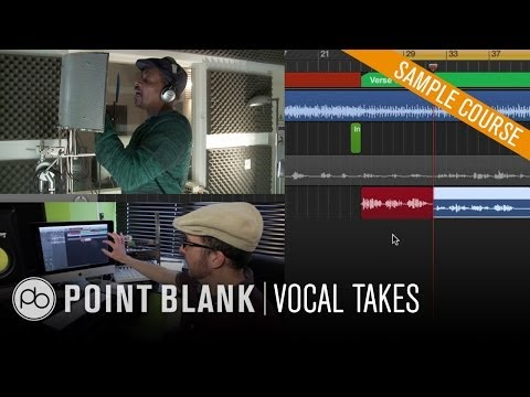 Logic Pro X - Vocal Comping