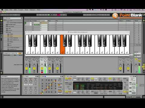 Ableton Tutorial - Deep House Arpeggiated Chord Pattern Generator