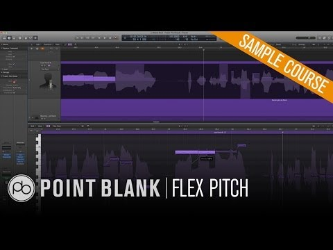 Using Flex Pitch in Logic Pro X