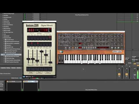 Native Instruments Pro-53 'Ski Sweep' patch demo