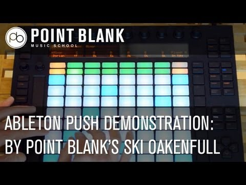 Ableton Push: Ski Demonstrates the Controller's Features