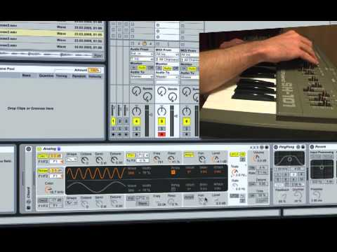 Ableton Tutorial - Roland SH-101 Rack (Free Download)